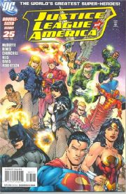 Justice League Of America #25 (2008) Giant DC comic book